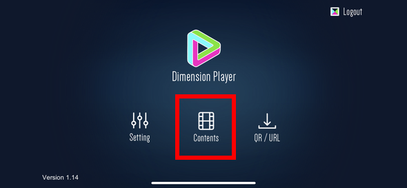 Dimension Player contents