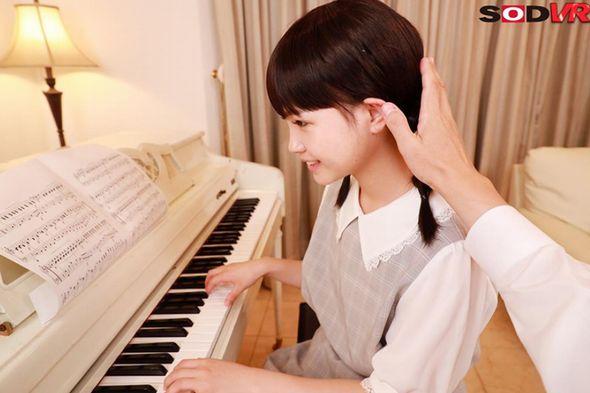 ピアノレッスン中にわいせつVR